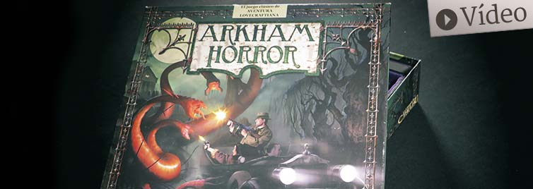 Arkham Horror: Unboxing