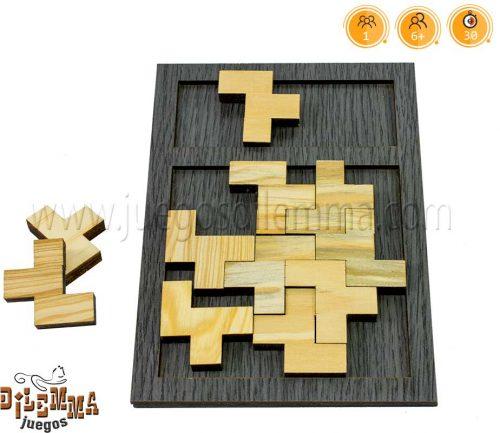juego en madera de 11F