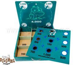 juego de rana portable grande