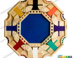 Parques 3D de 8 puestos en madera pino
