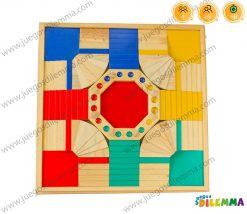 parques 3d en madera X4