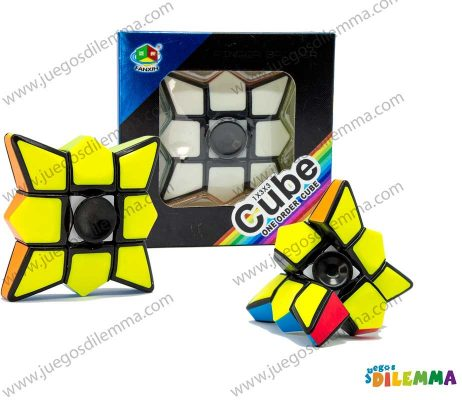 Cubo Rubik Floppy Fidget Spinner 1x3x3