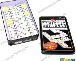 Domino 6×6 caja metálica
