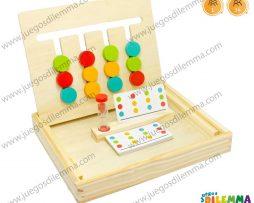 cuatro juego de colores motriz