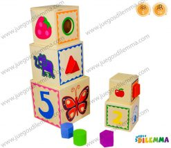 Cubos de Apilar Didácticos