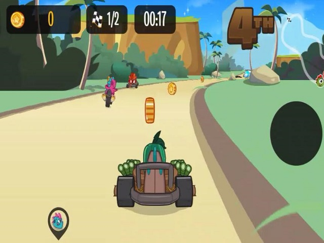 KIZI KART RACING juego online  JuegosJuegoscom