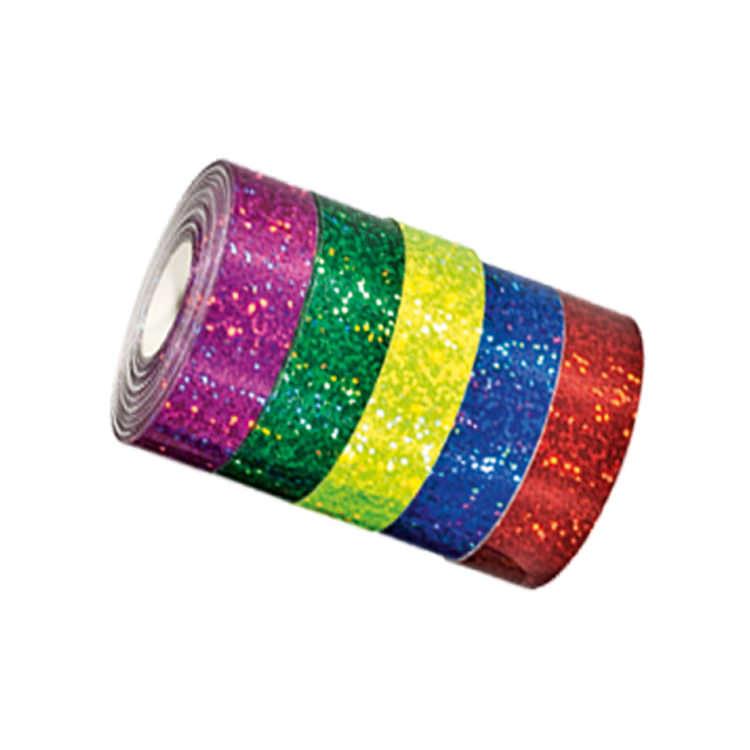 Cinta adhesiva glitter circo 19mm colores  Comprar en