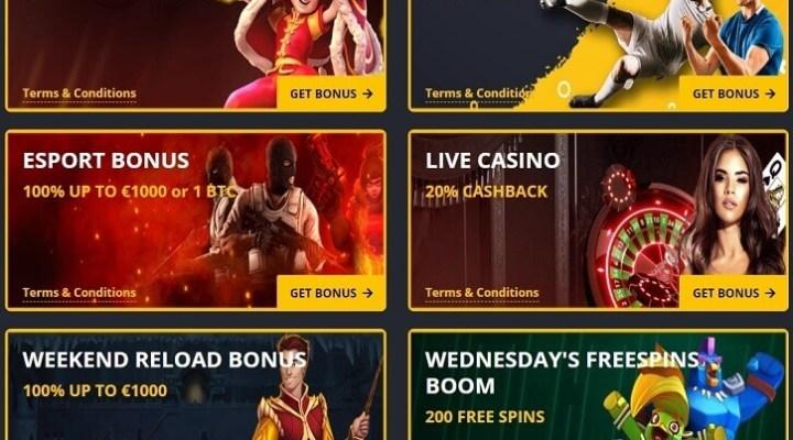 Bono de lealtad Spin Casino
