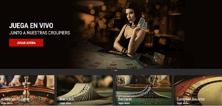 Juegos de casino en Bodog