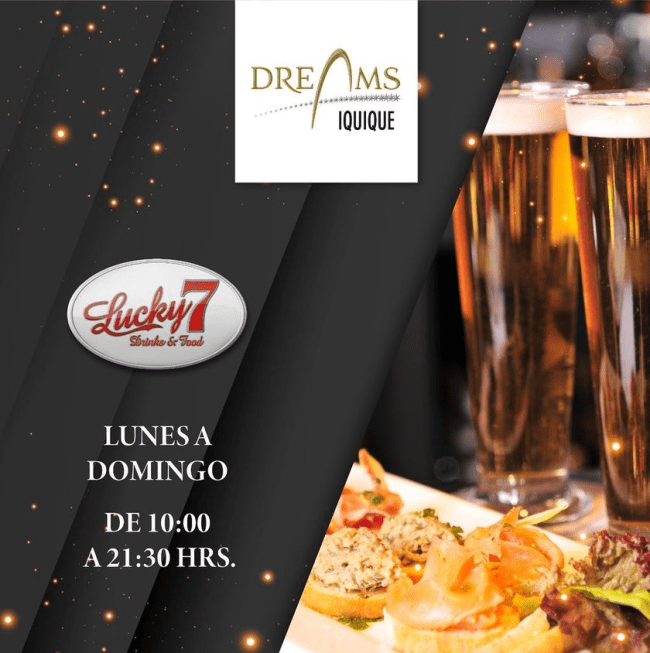 Disfruta en Bar Lucky 7 !!