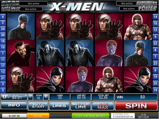 Marvel Ultimate Power jackpot tragamonedas