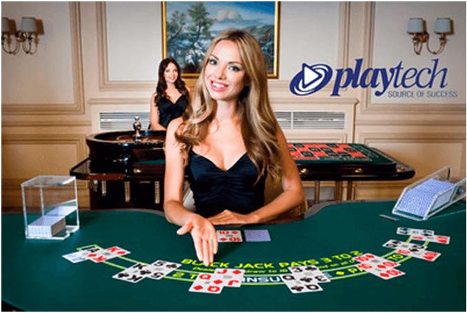 Mesa de casino en vivo de Playtech