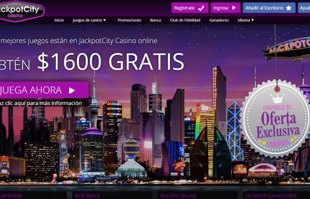 jackpot city chile 1600 de bono gratis