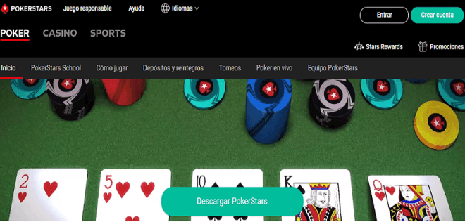 Pokerstars - Paginas de poker online