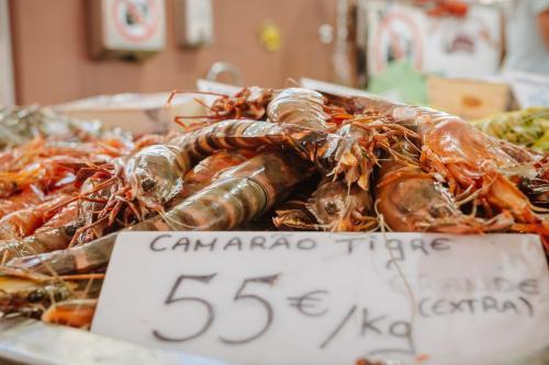 Camarão Tigre - Markthallen Loulé