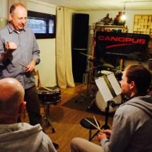 Jürgen Peiffer - at snare drum workshop