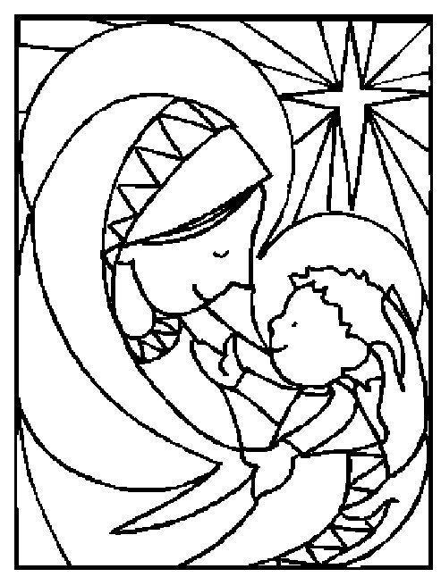 Nativity scenes, Nativity and Coloring sheets on Pinterest