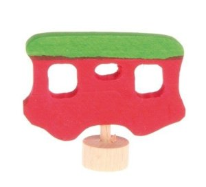 Grimms-steker-wagon-rood