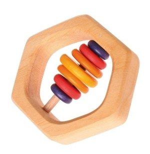 Grimms-rammelaar-hexagonal