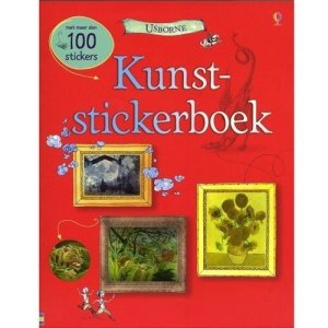 Stickerboek-kunst