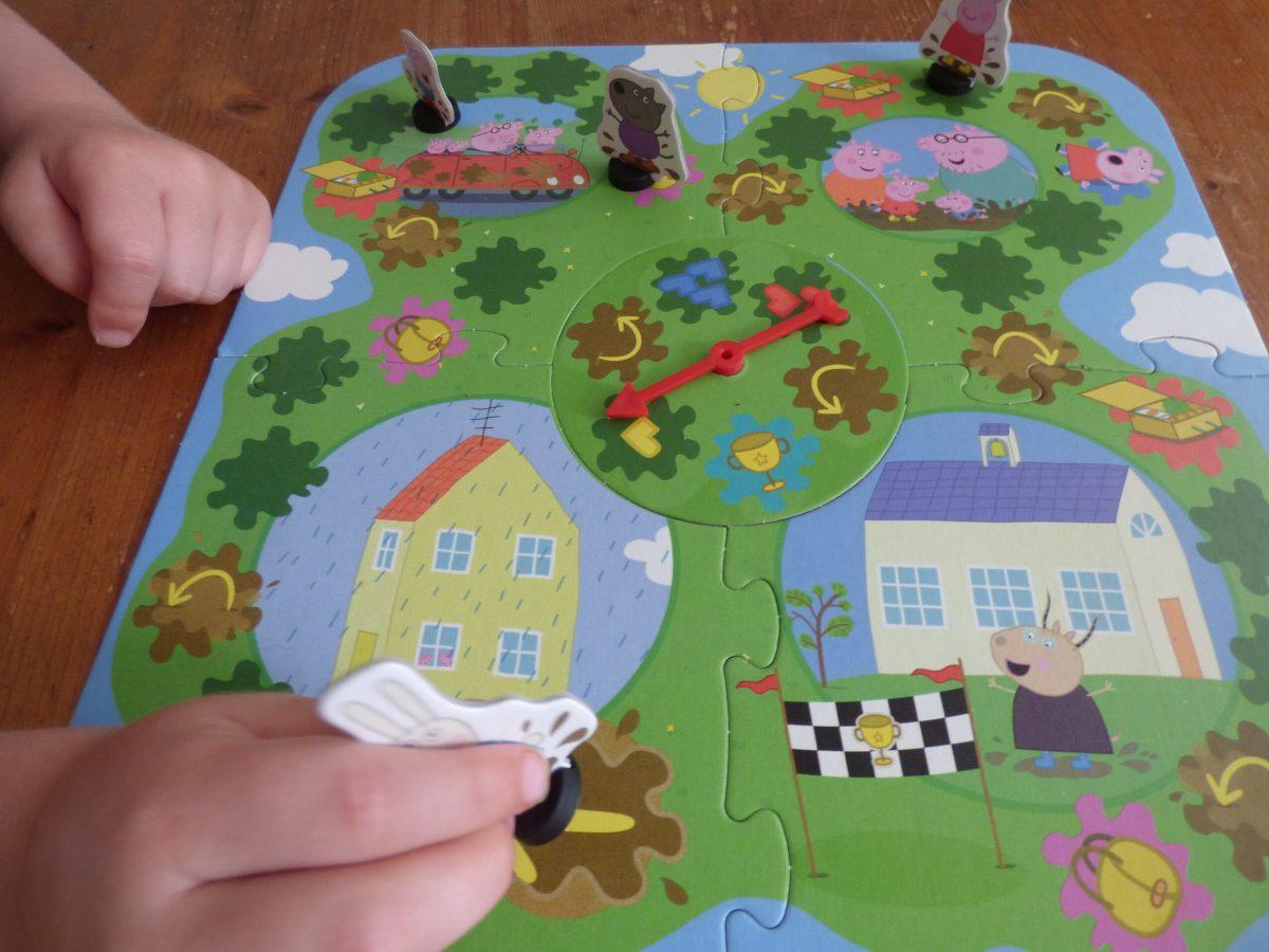 Het Peppa Pigmodderpoelenspel
