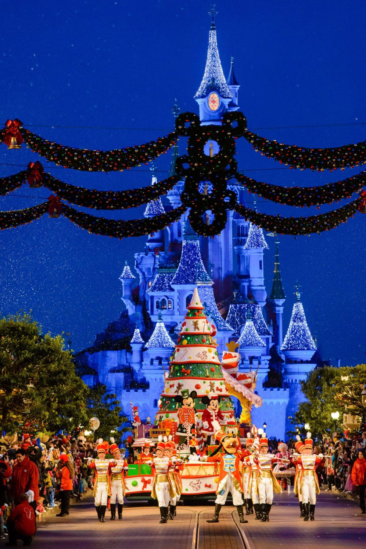 Disneyland kerst
