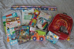 Cadeautjes tas voor onderweg
