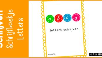 Verwonderend Schrijven | Schrijfwerkbladen verbonden schrift - Juf Shanna EC-14
