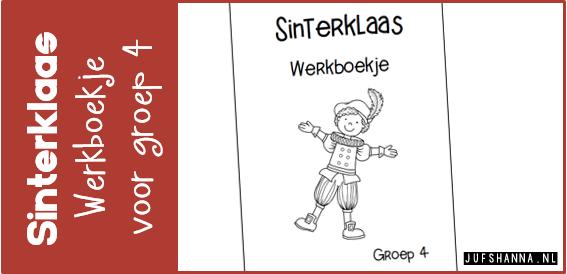 Fabulous Thema Sinterklaas | Werkboekje groep 4 - Juf Shanna #HB77