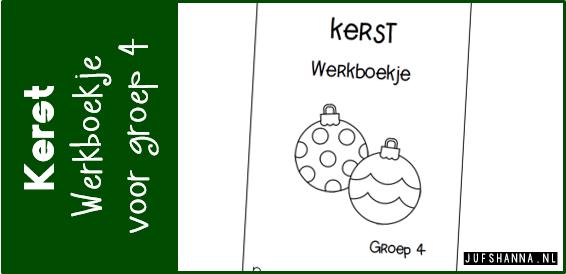 Kleurplaten Rekenen Groep 4.Jufshanna Nl Thema Kerst Werkboekje Voor Groep 4