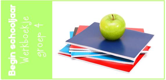 Zeer JufShanna.nl | Nieuw schooljaar - werkboekje begin groep 4 @SE08