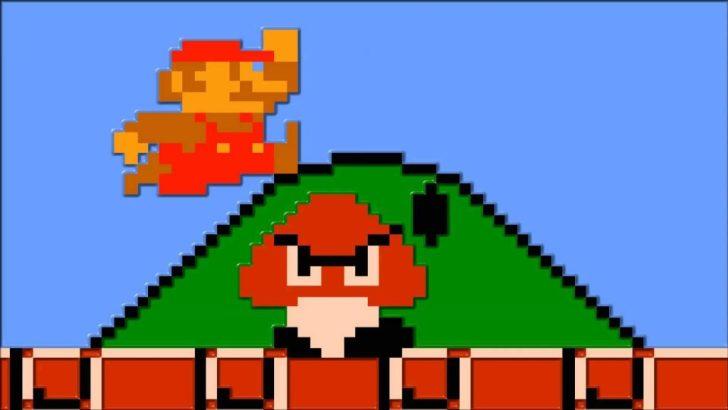 マリオ ビットマップ画像