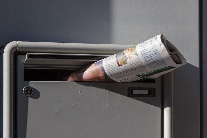 新聞 折り込み