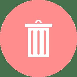 捨てる ゴミ箱