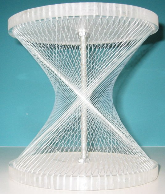 Hyperboloid Of One Sheet String Model