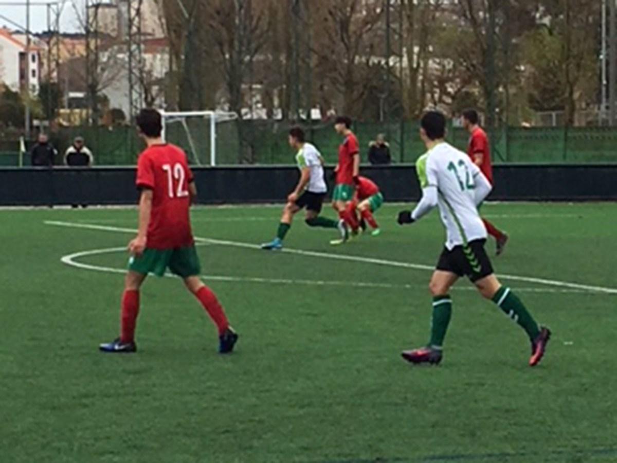 """LN - R. Racing Club """"B"""" 4-4 Castro FC"""