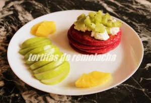 Tortitas De Remolacha
