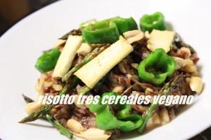 Risotto Tres Cereales Vegano
