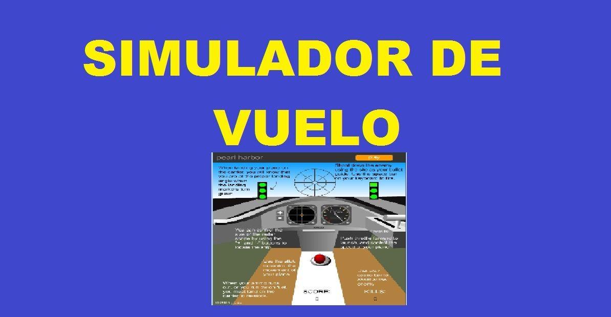 Simulador de Vuelo Online de Aviones