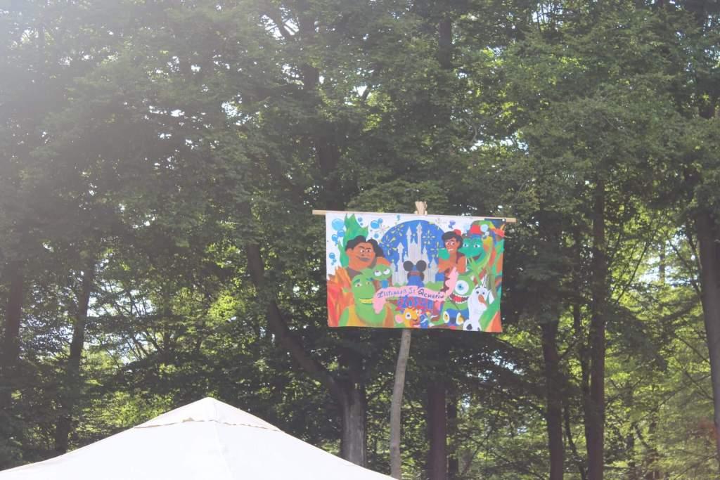 Diesjähriges Banner