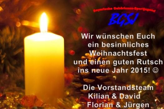 BGSJ Weihnachtskarte