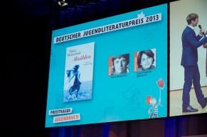 Preisbuch in der Sparte Jugendbuch // Foto: © Ulf Cronenberg