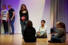 Buch-Präsentationen der Jugendjury || Foto: © Ulf Cronenberg
