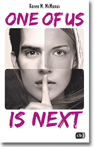 "Cover: Karen M. McManus ""One of us is next"""