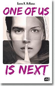 "Cover: Karen M. McManus ""One of us is next"""