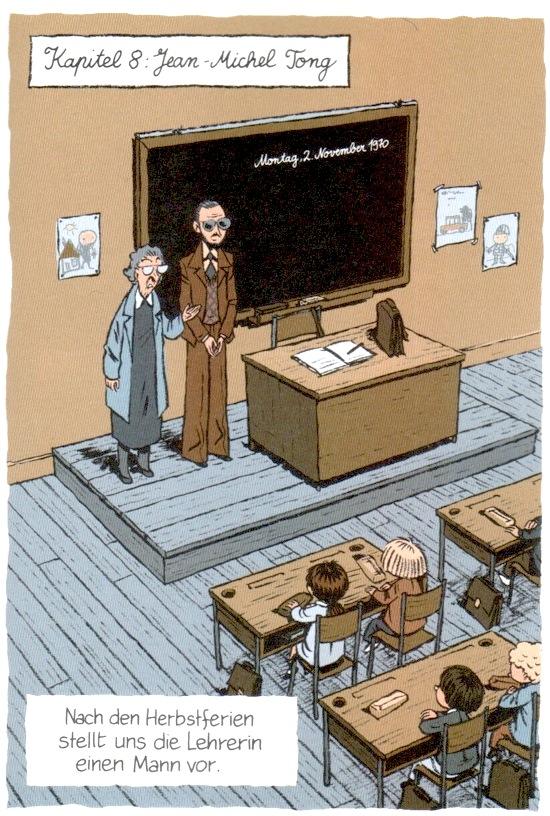 Regnaud/Bravo: Die Lehrerin stellt den Psychologen vor.