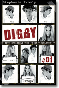 "Cover: Stephanie Tromly ""Digby #01"""