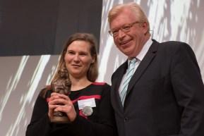 Preisträgerin im Jugendbuch: Kirsten Fuchs || © Foto: Ulf Cronenberg, Würzburg