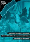 Titelblatt Ausgabe 07/2003 von JugendSchach