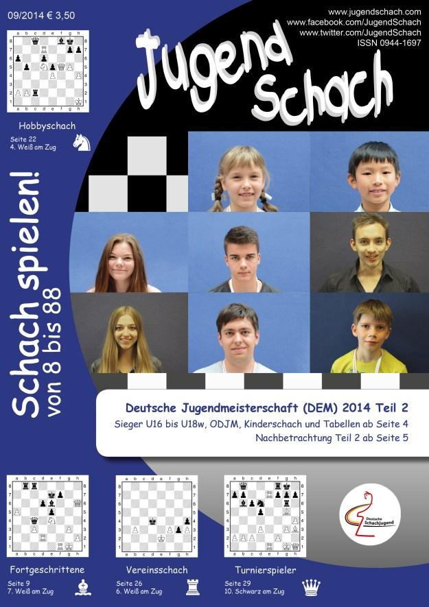 JugendSchach 09 2014 Titelseite
